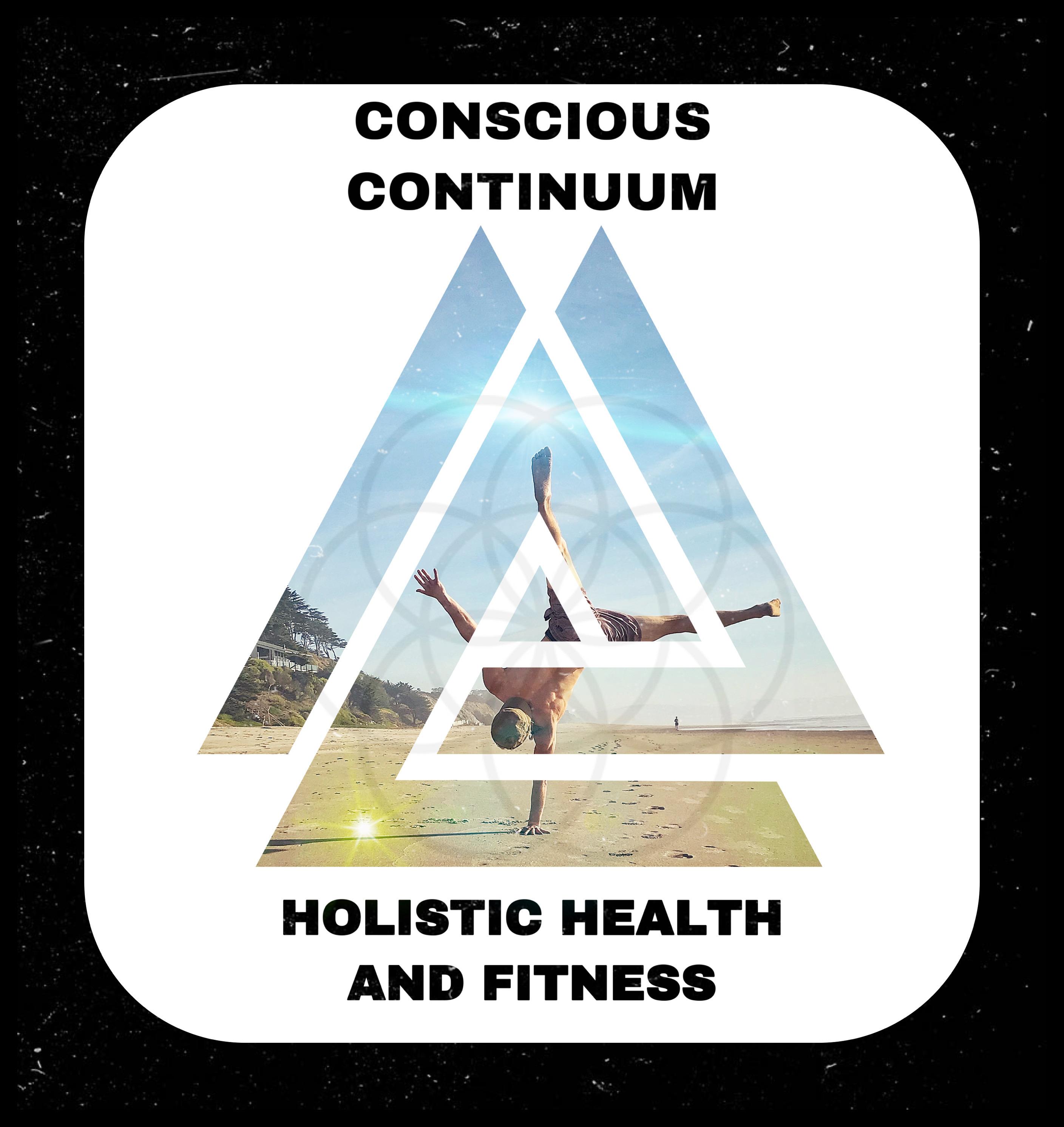 Conscious Continuum Holistic Health and Fitness Logo